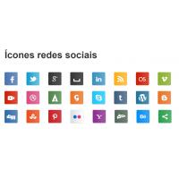 Ícones redes sociais CSS